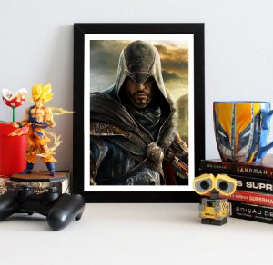 Quadro Decorativo Ezio - Assassin's Creed - QV331