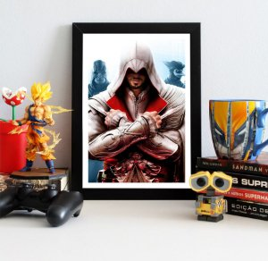 Quadro Decorativo Ezio - Assassin's Creed - QV333