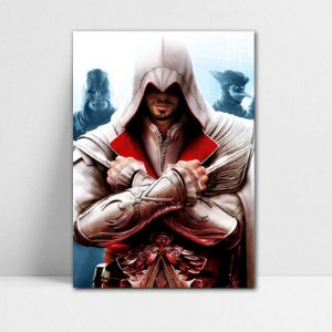 Poster A4 Ezio - Assassin's Creed - PT333