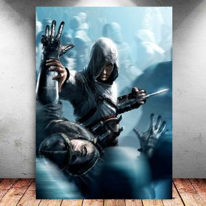 Placa Decorativa MDF Altair - Assassin's Creed - PMDF334