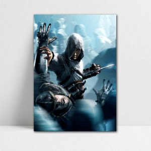 Poster A4 Altair - Assassin's Creed - PT334