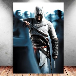 Placa Decorativa MDF Altair - Assassin's Creed - PMDF335