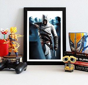 Quadro Decorativo Altair - Assassin's Creed - QV335