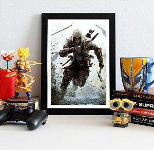 Quadro Decorativo Connor - Assassin's Creed - QV336