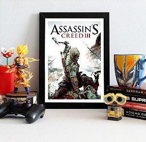 Quadro Decorativo Connor - Assassin's Creed - QV337