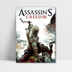 Poster A4 Connor - Assassin's Creed - PT337