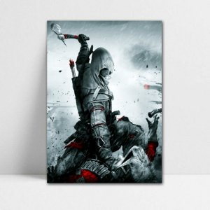 Poster A4 Connor - Assassin's Creed - PT338