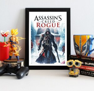 Quadro Decorativo Shay - Assassin's Creed - QV339