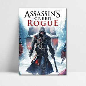 Poster A4 Shay - Assassin's Creed - PT339