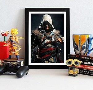 Quadro Decorativo Edward - Assassin's Creed - QV340