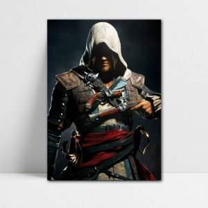 Poster A4 Edward - Assassin's Creed - PT340