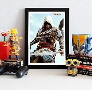 Quadro Decorativo Edward - Assassin's Creed - QV341