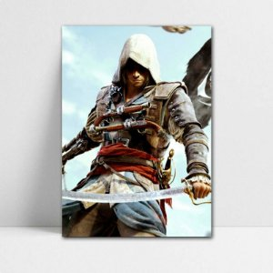 Poster A4 Edward - Assassin's Creed - PT341