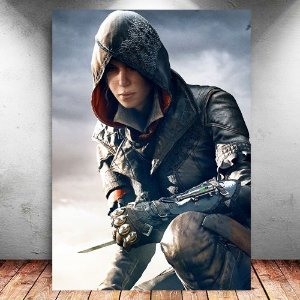 Placa Decorativa MDF Evie - Assassin's Creed - PMDF343