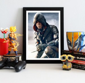 Quadro Decorativo Evie - Assassin's Creed - QV343