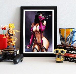 Quadro Decorativo Milena - Mortal Kombat - QV348