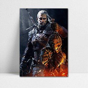 Poster A4 Geralt - The Witcher - PT351
