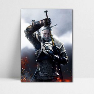 Poster A4 Geralt - The Witcher - PT352