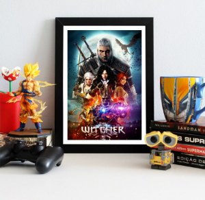 Quadro Decorativo The Witcher - QV353