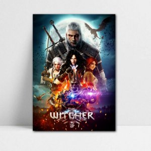 Poster A4 The Witcher - PT353