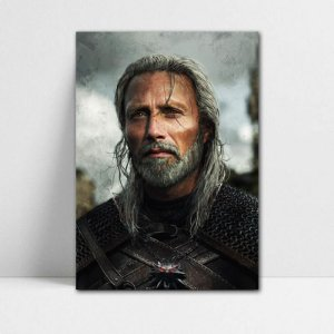 Poster A4 Geralt - The Witcher - PT354