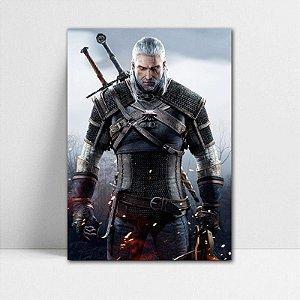 Poster A4 Geralt - The Witcher - PT355