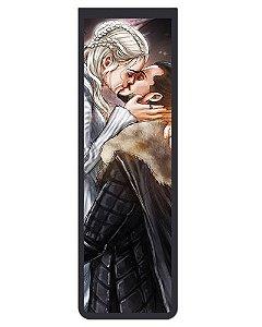 Marcador De Página Magnético Jon Snow e Daenerys - Game of Thrones - GOT85