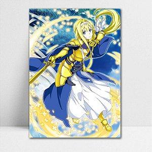 Poster A4 Alice - Sword Art Online - PT162