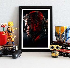 Quadro Decorativo Venon Snake - Metal Gear - QV361