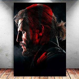 Placa Decorativa MDF Venon Snake - Metal Gear - PMDF361