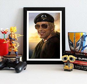 Quadro Decorativo Kaz - Metal Gear - QV362