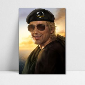 Poster A4 Kaz - Metal Gear - PT362