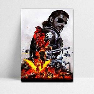 Poster A4 Venon Snake - Metal Gear - PT363