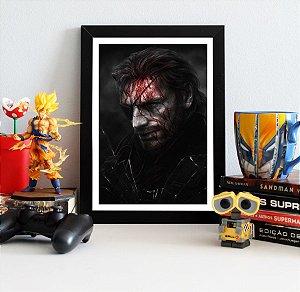 Quadro Decorativo Venon Snake - Metal Gear - QV366
