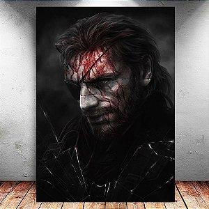Placa Decorativa MDF Venon Snake - Metal Gear - PMDF366