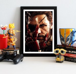 Quadro Decorativo Venon Snake - Metal Gear - QV367
