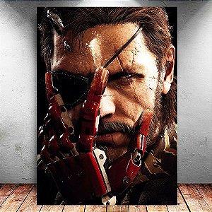 Placa Decorativa MDF Venon Snake - Metal Gear - PMDF367