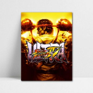 Poster A4 Ryu - Street Fighter - PT368