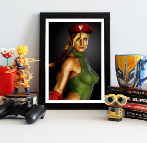 Quadro Decorativo Cammy - Street Fighter - QV371