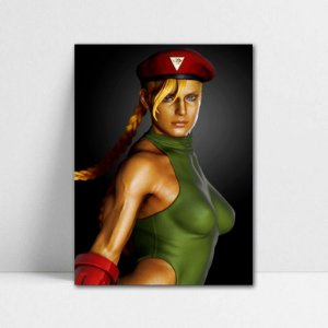 Poster A4 Cammy - Street Fighter - PT371