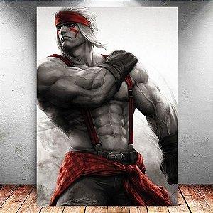 Placa Decorativa MDF Alex - Street Fighter - PMDF373
