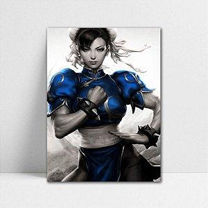 Poster A4 Chun-Li - Street Fighter - PT376