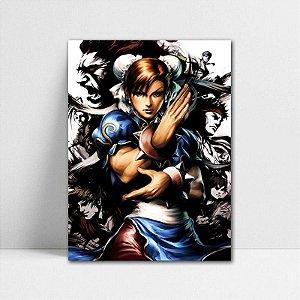Poster A4 Chun-Li - Street Fighter - PT379
