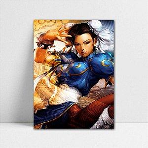 Poster A4 Chun-Li - Street Fighter - PT380