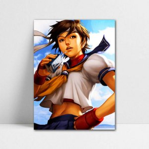 Poster A4 Sakura - Street Fighter - PT381