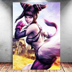 Placa Decorativa MDF Juri - Street Fighter - PMDF382