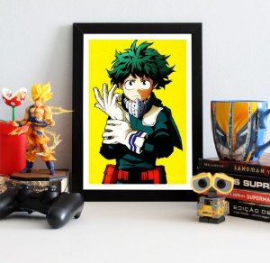 Quadro Decorativo Midoriya - My Hero Academia - QV205