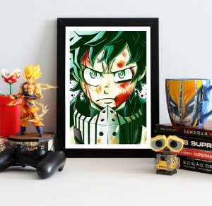 Quadro Decorativo Midoriya - My Hero Academia - QV198