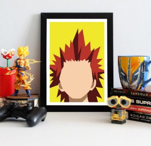 Quadro Decorativo Kirishima - My Hero Academia - QV192
