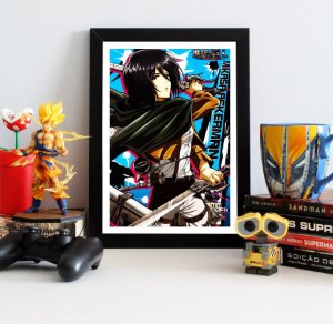 Quadro Decorativo Mikasa - Attack on Titan - QV79